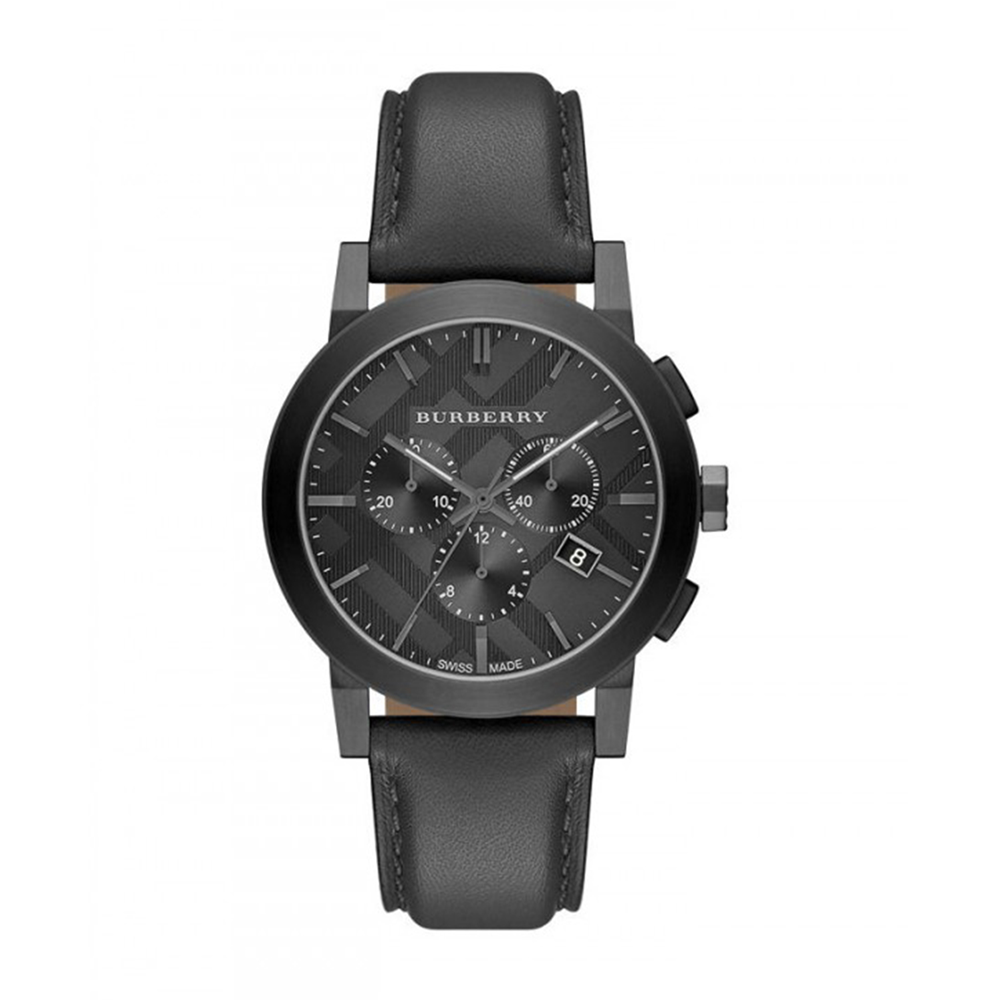 burberry watch the city men 039 s bu9364 burberry the city men s watch bu9364 42 mm ip gun metal stainless steel case sapphire glass and case back closed by screw gun metal dial check